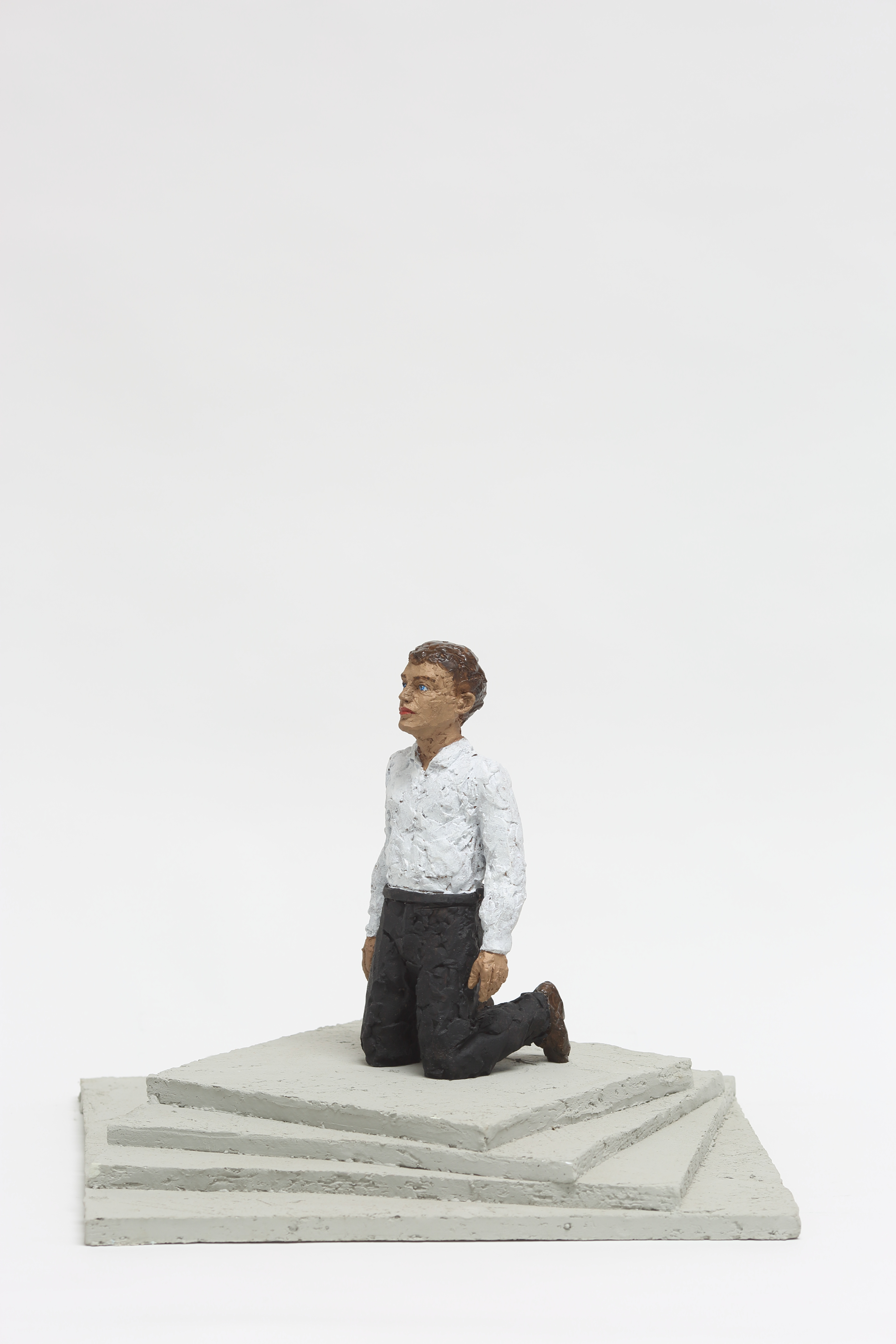 Modell zum Freiheits- und Einheitsdenkmal  - bronze, coloured, Socket: Epoxy and quartz sand - 2011 - 33 x 45 x 45 cm  - 50 copies